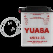 Accu / Battery Y12N14-3A | Fabrikantcode: YUAM2241B | Fabrikant: YUASA | Cataloguscode: Y12N14-3A