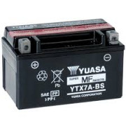 Accu / Battery YTX7A-BS | Fabrikantcode: YUAM32X7A | Fabrikant: YUASA | Cataloguscode: YTX7A-BS