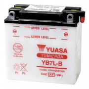 Accu / Battery YB7L-B | Fabrikantcode: YUAM2273Y | Fabrikant: YUASA | Cataloguscode: YB7L-B