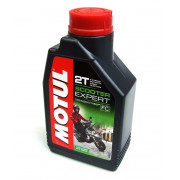 MOTUL Scooter Expert 2T Motor Oil Semi-Synthetic 1L(1 doos)