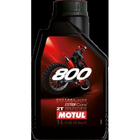 Motul 800 2Takt Olie 1Liter. (100% synthetisch)