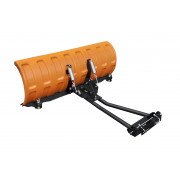 """SHARK Snow Plow 52"""" BLACK (132 cm) with adapters"""
