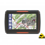 GPS RUGGED 4,3inch Europa map + Benelux Offroad mappen.
