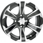 ITP WHEEL SS ALLOY SS312 MATTE BLACK WITH MACHINED FINISH 14x6 BOLT PATTERN 4/137 (12MM) OFFSET 4+2|Fabrikant: 1428454536B