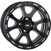 ITP WHEEL TSUNAMI 14X7 BOLT PATTERN 4/156 OFFSET 4+3 BLACK|Fabrikant: 1422075727B