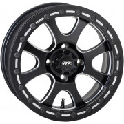 ITP WHEEL TSUNAMI 14X7 BOLT PATTERN 4/110 OFFSET 5+2 BLACK|Fabrikant: 1422077727B