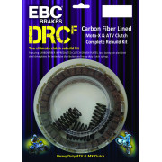 EBC | CLUTCH KIT COMPLETE DRCF SERIES OFFROAD/ATV CARBON FIBER |Artikelcode: DRCF201 |Cataloguscode: 1131-1981