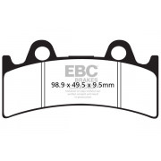 EBC | BRAKE PAD EPFA-HH SERIES SINTERED METAL |Artikelcode: EPFA190HH |Cataloguscode: 1721-1955