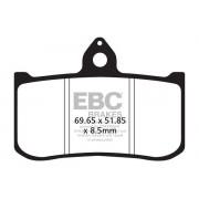 EBC | BRAKE PAD EPFA-HH SERIES SINTERED METAL |Artikelcode: EPFA239HH |Cataloguscode: 1721-1956