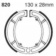 EBC | BRAKE SHOE PLAIN SERIES ORGANIC |Artikelcode: 820 |Cataloguscode: 1723-0252