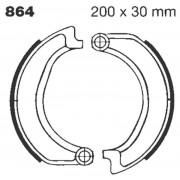EBC | BRAKE SHOE PLAIN SERIES ORGANIC |Artikelcode: 864 |Cataloguscode: 1723-0256