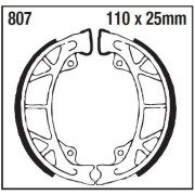 EBC | BRAKE SHOE PLAIN SERIES ORGANIC |Artikelcode: 807 |Cataloguscode: 1723-0480