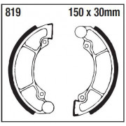 EBC | BRAKE SHOE PLAIN SERIES ORGANIC |Artikelcode: 819 |Cataloguscode: 1723-0482