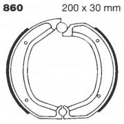 EBC | BRAKE SHOE PLAIN SERIES ORGANIC |Artikelcode: 860 |Cataloguscode: EBC-860