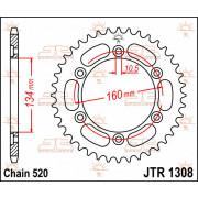 JT SPROCKETS | JTR1308.40 REAR REPLACEMENT SPROCKET / 40 TEETH / 530 PITCH / NATURAL / STEEL | Artikelcode: JTR1308.40 | Catalog