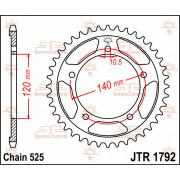 JT SPROCKETS | JTR1792.41 REAR REPLACEMENT SPROCKET / 41 TEETH / 525 PITCH / NATURAL / STEEL | Artikelcode: JTR1792.41 | Catalog