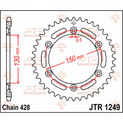 JT SPROCKETS | JTR1249.51 REAR REPLACEMENT SPROCKET / 51 TEETH / 420 PITCH / NATURAL / STEEL | Artikelcode: JTR1249.51 | Catalog