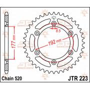 JT SPROCKETS | JTR223.53 REAR REPLACEMENT SPROCKET / 53 TEETH / 520 PITCH / NATURAL / C49 HIGH CARBON STEEL | Artikelcode: JTR22