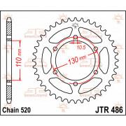 JT SPROCKETS | JTR486.38 REAR REPLACEMENT SPROCKET / 38 TEETH / 520 PITCH / NATURAL / C49 HIGH CARBON STEEL | Artikelcode: JTR48