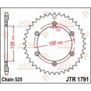 JT SPROCKETS | JTR1791.41 REAR REPLACEMENT SPROCKET / 41 TEETH / 525 PITCH / NATURAL / C49 HIGH CARBON STEEL | Artikelcode: JTR1