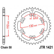 JT SPROCKETS | JTR1421.36 REAR REPLACEMENT SPROCKET / 36 TEETH / 50 PITCH / NATURAL / C49 HIGH CARBON STEEL | Artikelcode: JTR14