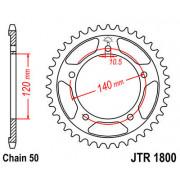 JT SPROCKETS | JTR1800.44ZBK REAR REPLACEMENT SPROCKET / 44 TEETH / 50 PITCH / NATURAL / C49 HIGH CARBON STEEL | Artikelcode: JT