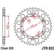 JT SPROCKETS | JTR853.41ZBK REAR REPLACEMENT SPROCKET / 41 TEETH / 520 PITCH / BLACK / C49 HIGH CARBON STEEL | Artikelcode: JTR8