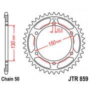 JT SPROCKETS | JTR859.48ZBK REAR REPLACEMENT SPROCKET / 48 TEETH / 50 PITCH / NATURAL / C49 HIGH CARBON STEEL | Artikelcode: JTR