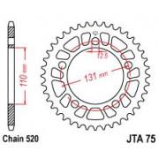 JT SPROCKETS | JTA75.44 REAR LIGHTWEIGHT SPROCKET / 44 TEETH / 520 PITCH / NATURAL / 7075-T6 ALUMINIUM ALLOY | Artikelcode: JTA7