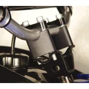 Stuurverhoger universeel voor 22mm dik stuur: +25mm hoger.