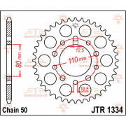 JT SPROCKETS | JTR1334.45 REAR REPLACEMENT SPROCKET / 45 TEETH / 50 PITCH / NATURAL / STEEL | Artikelcode: JTR1334.45 | Catalogu
