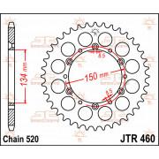 JT SPROCKETS   JTR460.51 REAR REPLACEMENT SPROCKET / 51 TEETH / 520 PITCH / NATURAL / STEEL   Artikelcode: JTR460.51   Catalogus