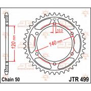 JT SPROCKETS | JTR499.40 REAR REPLACEMENT SPROCKET / 40 TEETH / 530 PITCH / NATURAL / STEEL | Artikelcode: JTR499.40 | Catalogus