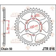 JT SPROCKETS | JTR816.42 REAR REPLACEMENT SPROCKET / 42 TEETH / 530 PITCH / NATURAL / STEEL | Artikelcode: JTR816.42 | Catalogus