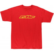 FMF APPAREL | TEE ENGINE RDY RED M | Artikelcode: F351S18109REDM | Cataloguscode: 3030-13315
