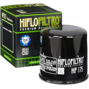 HIFLOFILTRO | OIL FILTER SPIN-ON PAPER GLOSSY BLACK | Artikelcode: HF175 | Cataloguscode: 0712-0503