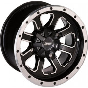 WHEEL 548M 12X8 4/110 4+4 | Fabrikantcode:548M128110MBMF4 | Fabrikant:MOOSE UTILITY DIVISION | Cataloguscode:0230-0733