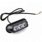ORANJE bumper flitser - E keurmerk - R65 - 4 LED - synchronisatie