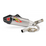 PRO CIRCUIT | T-6 EURO EXHAUST SYSTEM WITH TITANIUM CANISTERS & CARBON END CAP | Artikelcode: 0121525H | Cataloguscode: 1820-159