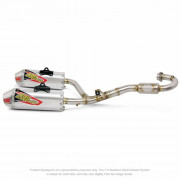 PRO CIRCUIT | T-6 DUAL EXHAUST SYSTEM STAINLESS | Artikelcode: 0111545G2 | Cataloguscode: 1820-1604