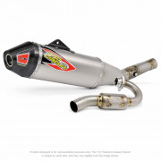 PRO CIRCUIT | TI-6 EXHAUST SYSTEM TITANIUM WITH CARBON END CAP | Artikelcode: 0351525F | Cataloguscode: 1820-1621
