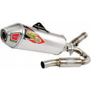 PRO CIRCUIT | T-6 EURO EXHAUST SYSTEM WITH TITANIUM CANISTERS & CARBON END CAP | Artikelcode: 0151625H | Cataloguscode: 1820-165