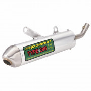 PRO CIRCUIT | 296 SILENCER WITH SPARK ARRESTOR | Artikelcode: SH02125-296 | Cataloguscode: SH02125-296