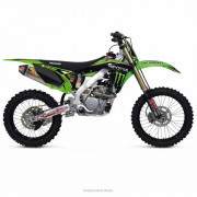 PRO CIRCUIT | GRAPHIC KIT TEAM MONSTER ENERGY COMPLETE WITH SEAT COVER KAWASAKI | Artikelcode: DK15250T | Cataloguscode: 4302-43