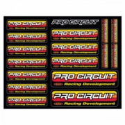 PRO CIRCUIT | LOGO DECAL SHEET | Artikelcode: DC96OL | Cataloguscode: 4320-1477