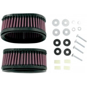 K & N | AIR FILTER KIT (2 INCLUDED) KAWASAKI VN750 86-06 | Artikelcode: KA-7586 | Cataloguscode: 1011-0305
