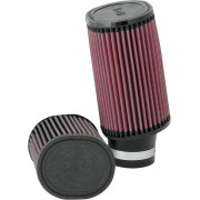 K & N | UNIVERSAL AIR FILTER OVAL STRAIGHT MIKUNI | Artikelcode: RU-1830 | Cataloguscode: 1011-1121