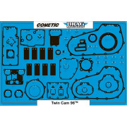 COMETIC | AIR FILTER-TO-CARB BACKPLATE GASKET | Artikelcode: C9304 | Cataloguscode: 0934-2018