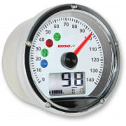 KOSO NORTH AMERICA | SPEEDOMETER TNT-01S MULTIFUNCTION CHROM CASING | Artikelcode: BA035160 | Cataloguscode: 2210-0362