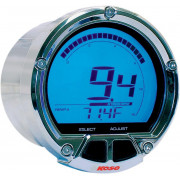 KOSO NORTH AMERICA | TACHOMETER MULTIFUNCTION DL-02R CHROME | Artikelcode: BA555B11 | Cataloguscode: 2201-0091